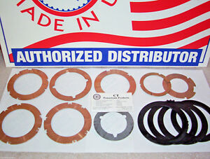 C6 Thrust Washer Kit With 4 Pump Plastic Selectives 1966-On Ford Lincoln Mercury