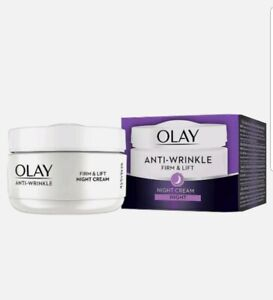 Olay anti wrinkle firm and lift Spf 15 Night Cream. 50ml New.