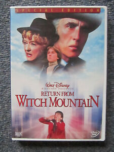 DVD WALT DISNEY RETURN FROM WITCH MOUNTAIN SPECIAL EDITION  *** MUST SEE ***