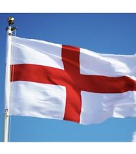 Big England Flag 10FT X 6FT St George Cross  English Eyelets Football Rugby Day