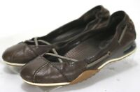 Cole Haan Nik Air $90 Women's Slip On Flats Shoes Size 6.5 Brown