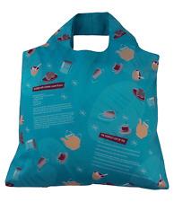 Cocina Retro Azul Bolso plegable con gráficos inspirados en cocina por Envirosax