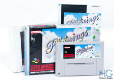 PILOTWINGS Boxed-Nintendo SNES Retrò Super GIOCO CARTUCCIA PAL