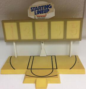 1988 Starting Lineup SLU Basketball Collectors Stand 🔥 📈 Complete RARE