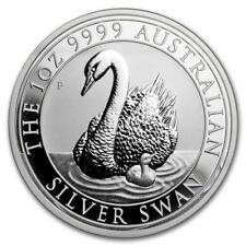 Australien - 1 Dollar 2018 - Schwan - Anlagemünze - 1 Oz Silber ST