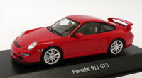 Minichamps 1/43 Scale Model Car 21819 - Porsche 911 GT3 - Red