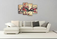 Red Floral Art Paintings