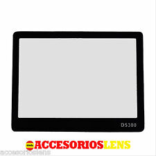PROTECTOR DE PANTALLA  PARA NIKON  D5300 DSLR ,FABRICADO EN  CRISTAL OPTICO  LCD