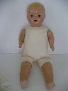 MADAME HENDRON ANTIQUE COMPOSITION BABY HENDRON 1920's