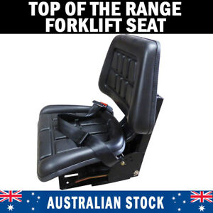 NEW Forklift Suspension Seat Wraparound John Deere, New Holland, Fiat, Ford