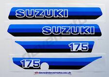 SUZUKI PE175X 1981 STICKER KIT DECAL KIT Enduro Twinshock Motocross Classic