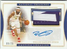 19/20 National Treasures Willie Cauley-Stein AUTO PATCH #'ed 9/25 - Warriors