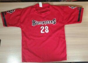Tampa Bay Buccaneers Red Jersey Shirt Youth Kids Medium Vintage Franklin USA