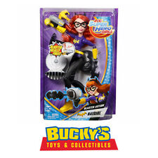 DC Super Hero Girls' Blaster Action Batgirl Doll Figure Superheroes Villains Toy