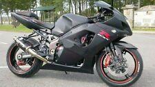 Matte Black Complete Injection Fairing For 2004-2005 Suzuki GSXR GSX-R 600 750
