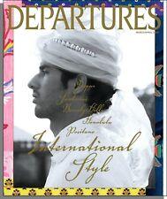 Departures - 2007, March - International Style, Purdey Rifles, Zinfandels