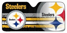 Pittsburgh Steelers Auto Sun Shade [NEW] Car Truck Window Reflective Cover 59x27