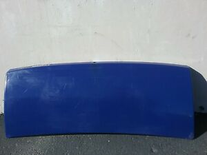 2002 Ford Think (Golf Cart) Rear Trunk lid Assembly  (Blue Color)