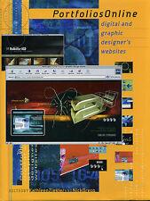 Portfolios Online : Digital and Graphic Designers Websites (2001, Hardcover)