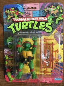 Playmates Teenage Mutant Ninja Turtles 1988 Raphael Figure in Original Package