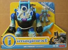 IMAGINEXT GOTHAM CITY DC Super Friends MR. FREEZE & ROBOT ~ Fisher-Price