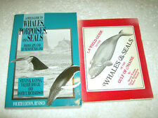 Lot # 66 - 2 Field Guides to Whales , Porpoises + Seals , Cape Cod to Newfolnd