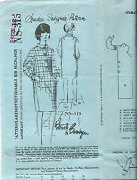 1960s Spadea sewing pattern Coat-DRESS sew size 12 designer Patrick de Barentzen