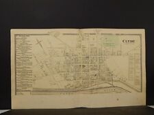 New York, Wayne County Map, 1874, Clyde, Double Page, Y4#44