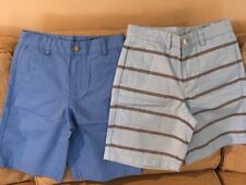 NWT Vineyard Vines Boys Seersucker Stripe Club Shorts $49.50 Sz.14
