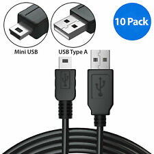 10x 3ft Mini USB Cable Data Sync Charging 5 Pin Cord for Canon GPS PS3 MP3 MP4
