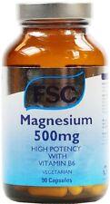 Magnesium 500mg 90 Capsules - FSC