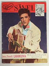 ELVIS PRESLEY Cover On Rare Old Finnish AJAN SÄVEL (Savel) Magazine #45 1958