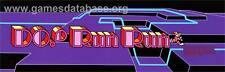 """Do! Run Run"" Arcade Marquee Plexiglas nice marquee.In Awesome Shape!"