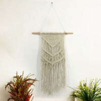 Bohemian Handmade Macrame Tapestry Room Wall Hanging Woven Tapestry Cotton Decor