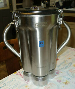 Waring  1 Gallon Commercial Food Blender Container Stainless (kf)