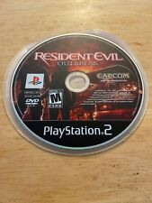 Resident Evil OutBreak out break Capcom Disc Only PlayStation 2 PS2 Game Tested