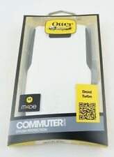 Real OtterBox Commuter Series Case for Motorola Droid Turbo White Grey Glacier