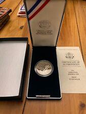 1991-P. Korean War Memorial Coin SILVER DOLLAR with COA ** PROOF ** Beautiful!