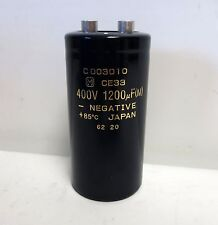 CAPACITOR, 1200uF / 400V 85°C  CE33. TESTED