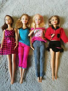 Barbie doll set bundle modern in clothes