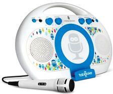 New listing Tabeoke Portable Bluetooth Karaoke Singing Machine Sing Along Built-in Speaker