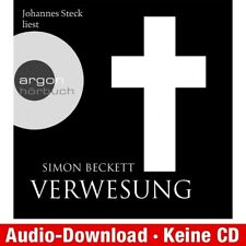 Hörbuch-Download (MP3) ★ Simon Beckett: Verwesung