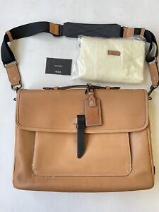 RARE TUMI Santa Monica Drummond Leather Messenger Bag Briefcase 45308D $695