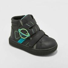 """New Toddler 6 Boys' Maddock Sneakers - Cat & Jackâ""""¢ Black Space Planet Nasa"""