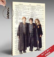HARRY POTTER RON HERMIONE POSTER A4 dizionario * Word MAGIC * stampa lucida