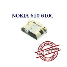 CHARGER PORT MICRO USB CONNECTOR FOR NOKIA LUMIA 610 610C REPLACEMENT SPARE PART