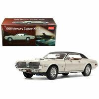 1/18 Sun Star 1968 Mercury Cougar XR7G Hard Top Diecast Fawn White SS 1572