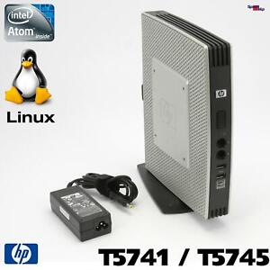 HP COMPAQ THIN CLIENT T5741 T5745 COMPUTER PC 1.66GHZ LINUX THINPRO SSD RS-232