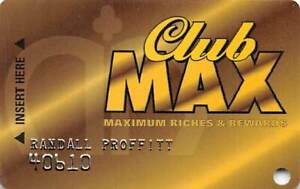 Maxim Casino - Las Vegas, NV - Slot Card
