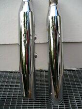 Harley Davidson Softail Auspufftöpfe mit e 4 Zeichen